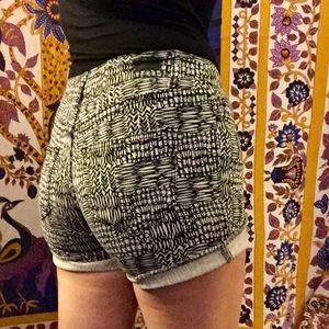 BDG patterned shorts